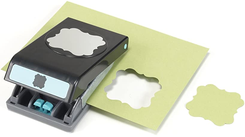 Slim Extra Large Paper Punch, Flourish Approx. 1.75
