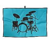 NVCBHk Golf Towel Drum Set Sports Towel 23x15 Inches Gym Player Towel