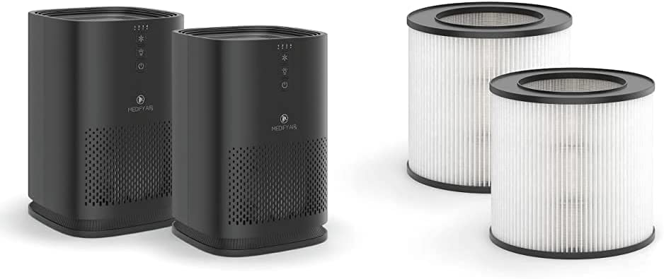Medify MA-14 Air Purifier with two H13 True HEPA Indianapolis Mall repl New sales additional