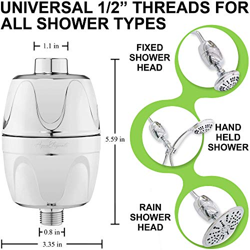 Universal Home Shower Head Filters
