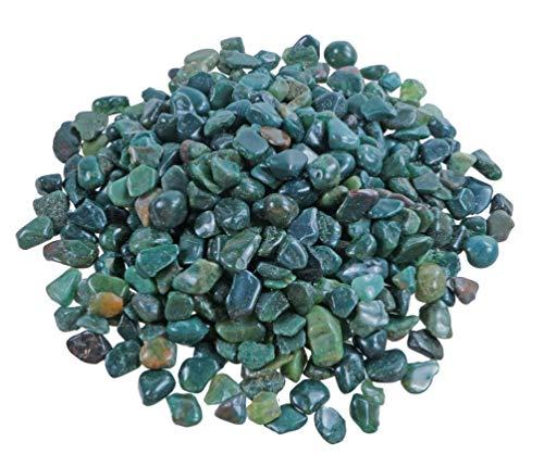Heliotrop Mini - Piedras de tambor (100 g, 5-10 mm de diámetro)