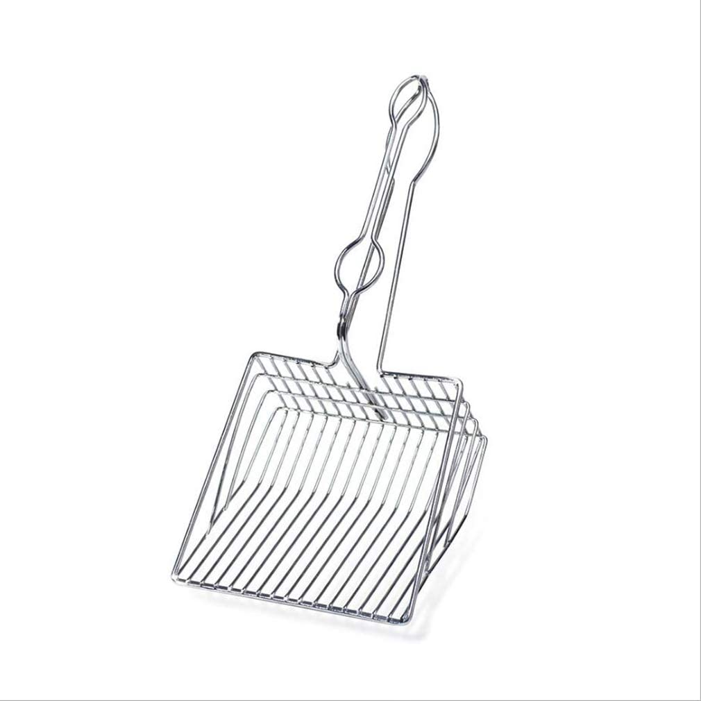 lehao Cat OFFicial shop Litter Scoop depot Stainless Steel Handle Long Kitty To Wire