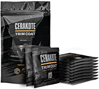 CERAKOTE Ceramic Trim Coat - Guaranteed Restoration to Last over 200 Washes - A Ceramic Coating Not a Dressing - Quick and Easy to Apply