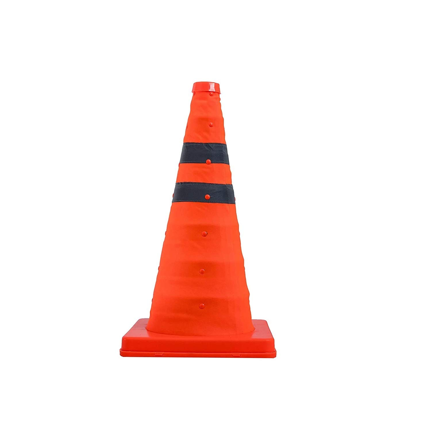 4-Pack 15.5'' Collapsible Reflective Traffic with Li Cones LED In Denver Mall stock