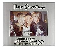 "Ganz Three Generations Frame 4""x6"" (EJ0441) [並行輸入品]"