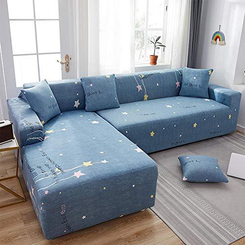 Funda de sofá 1/2/3/4 plazas,Funda de sofá de alta elasticidad,funda multifuncional para todas las estaciones,combinación a prueba de polvo y antideslizante de 3 chaise y lazy-27_5 asientos(305-360cm)