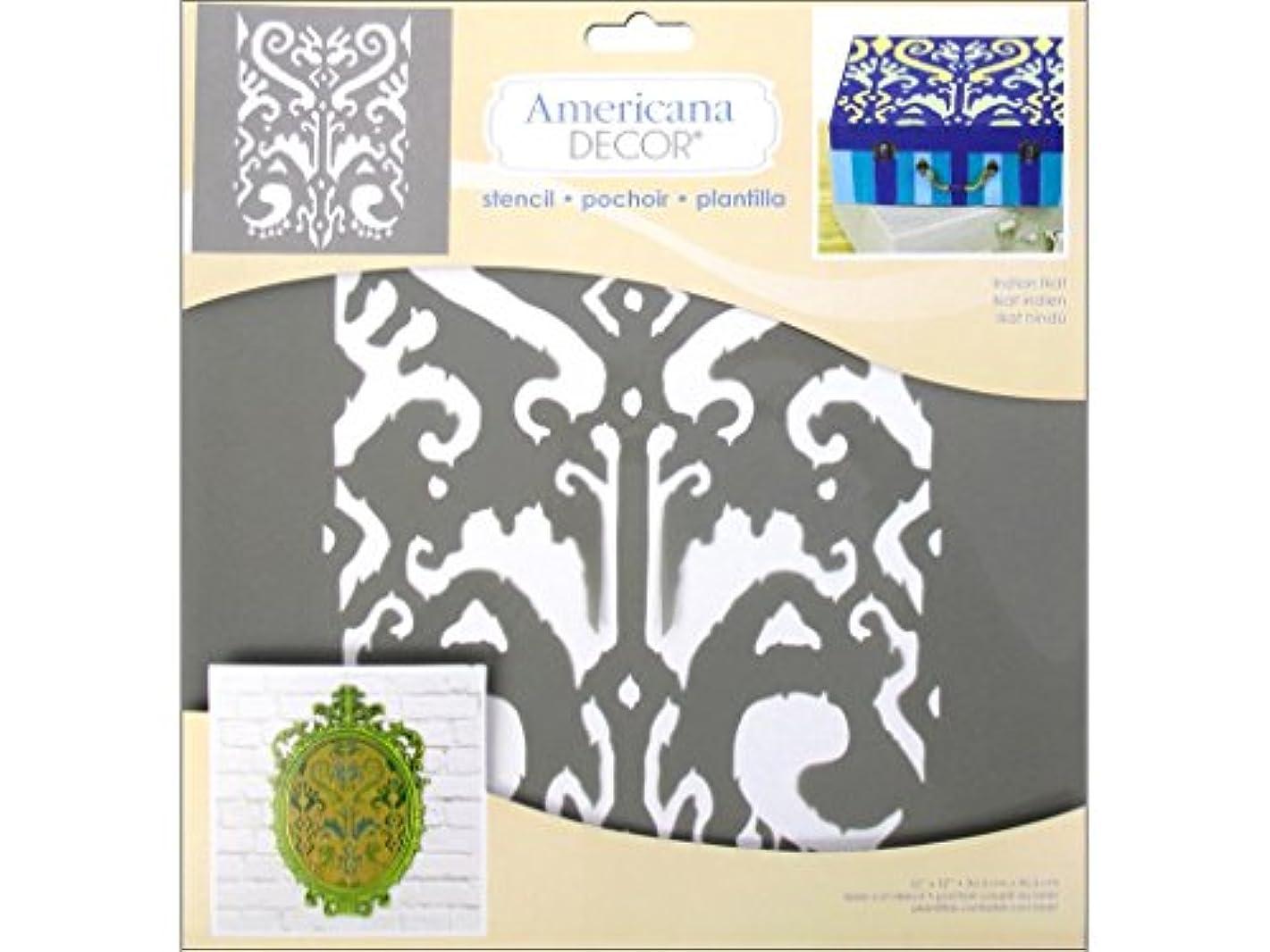 DecoArt Americana Indian Ikat Decor Stencil