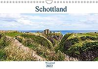 Schottland - Wie gemalt (Wandkalender 2022 DIN A4 quer): Schottlands faszinierende Landschaft (Monatskalender, 14 Seiten )
