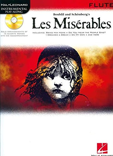 Les Misérables Flute Book/Audio Online (Hal Leonard Instrumental Play-Along)