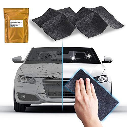 2 Pack - Upgraded Nano Magic Car Scratch Remover Cloth, Multipurpose Scratch Repair Cloth, Nanomagic Cloth for Car Paint Scratch Repair, Easy to Repair Slight Scratches on the Surface