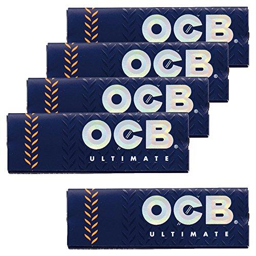 柘製作所(tsuge) OCB・アルティメイト シングル 【スローバーニング・50枚入り】 ×5パック #78923