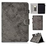 Yhuisen Cloth Texture PU Leather Tablet Stand Smart Case Cover with Auto Sleep/Wake for iPad Pro 10.5 inch (2017 Release) (Color : Gray)