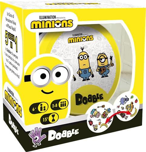 Asmodee - Dobble: Minions, Juego de Cartas para Toda la Familia, edición en Italiano, 8252