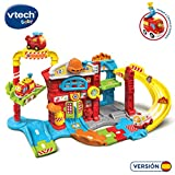 VTech- TutTut Tut Bólidos Estación de Bomberos, Multicolor, única (3480-503922)