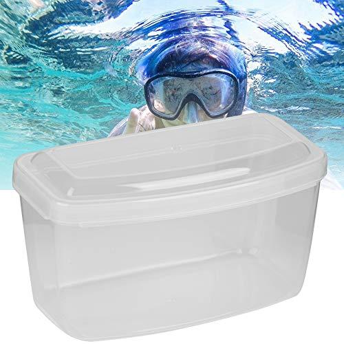 Simning Glasögon Låda, Kraftig Mask Fena Snorkel Kvalitet Pkriva Material Gjord av Pkriva för Dykning Snorkling Utrustning
