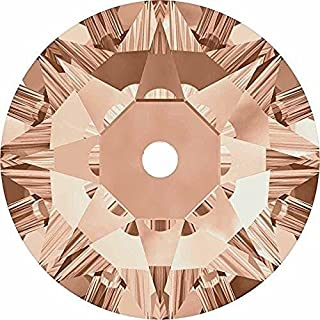 3188 Swarovski Sew On Crystals Lochrose Sequins Light Peach | 3mm - Pack of 50 | Small & Wholesale Packs