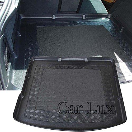 Car Lux AR01023 - Alfombra Bandeja Cubeta Protector cubre maletero a medida con antideslizante para X6 E71