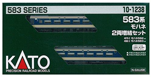 KATO Nゲージ 583系 モハネ 増結 2両セット 10-1238 鉄道模型 電車