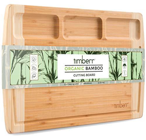 竹制熟食板18 x 12英寸