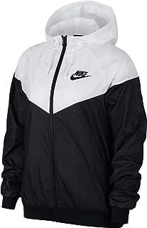 Nike M Nk Essntl Jkt HD Hbr Chaqueta, Hombre, Outdoor Green/White, 2XL amazon verde Deportivo