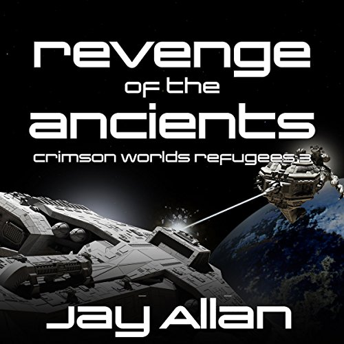 Revenge of the Ancients audiobook cover art