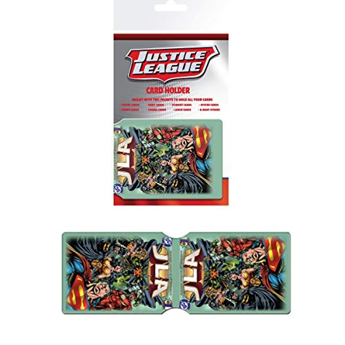 GB Eye LTD, DC Comics, Liga de la Justicia, Tarjetero