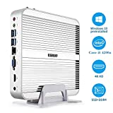 HYSTOU Intel FMP03 Core i5-4200U, Ordinateur de Bureau,Mini PC, Mini PC sans...