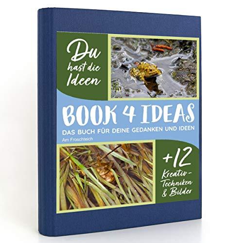 BOOK 4 IDEAS modern   Am Froschteich, Eintragbuch mit Bildern
