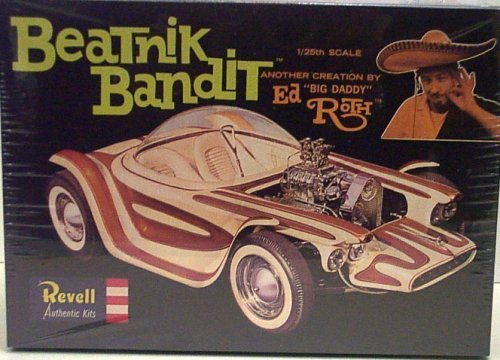 """Revell 1279 Beatnik Bandit - Ed """"Big Daddy"""" Roth Creation - Plastic Model Kit - 1:25 Scale by Revell"""