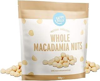 Amazon-merk: Happy Belly, Macadamia noten, 500 g