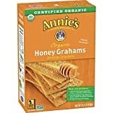 4 Boxes - Annie's Organic Honey Graham Crackers, 14.4 oz REAL INGREDIENTS: No artificial flavors, synthetic colors, or preservatives. CERTIFIED ORGANIC: Certified organic ingredients are grown without persistent pesticides. WHOLESOME: Never made with...