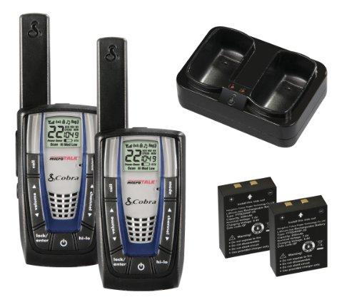 Cobra Electronics CBRCXR825 Cobra Walkie-Talkie microTalk CXR825 22-Channel Two-Way Radio (Pair)