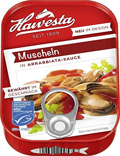 Hawesta - Muscheln in Arrabiata-Sauce - 110g/66g