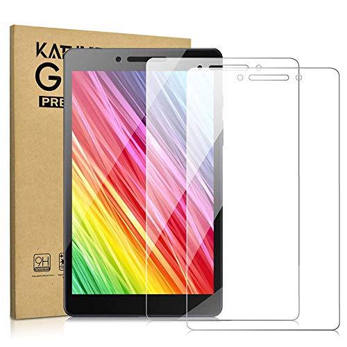 KATUMO [2 Stück] Panzerglas für Samsung Galaxy Tab A 8.0 Zoll (T290/T295/T297) Schutzfolie 9H Gehärtetem Glass Panzerfolie Galaxy Tab A8 HD Bildschirmschutzfolie