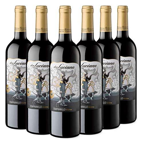 Don Luciano Reserva - Vino Tinto D.O. La Mancha - Caja de 6 Botellas x 750 ml
