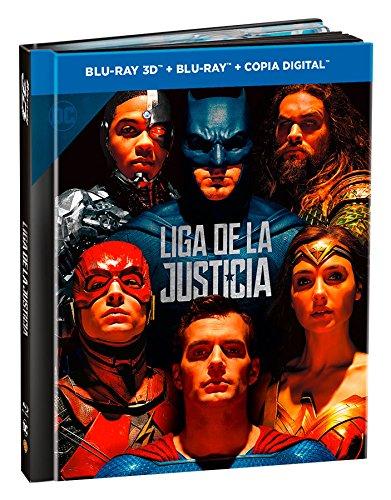 Liga De La Justicia Blu-Ray 3d + 2d Digibook [Blu-ray]