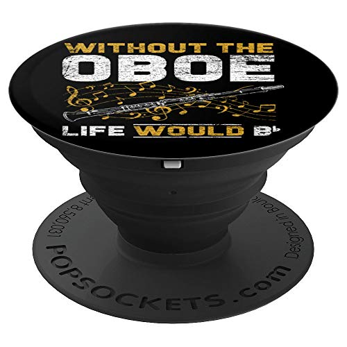 Music Musician Musical Instrument Gift Oboe PopSockets Grip and Stand for Phones and Tablets
