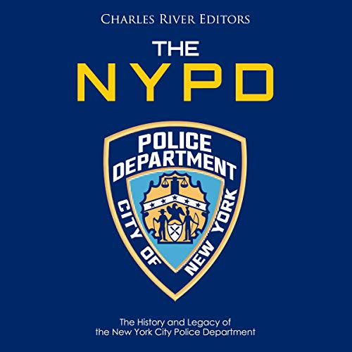 The NYPD audiobook cover art