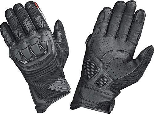 Held Motorradhandschuhe lang Motorrad Handschuh Sambia Pro Cross-/Enduro Handschuh schwarz 9, Herren, Cross/Offroad, Ganzjährig, Leder