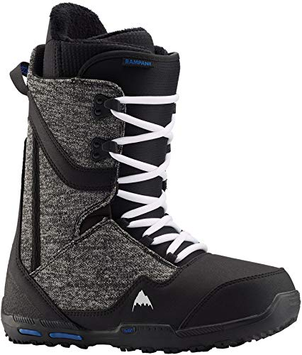 Burton Rampant Snowboard Boots Mens Sz 11 Black/Blue