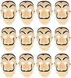 Disfraz de Salvador Dali Mask, accesorio de disfraz de Heist (12 unidades)