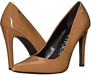 brown patent leather pumps