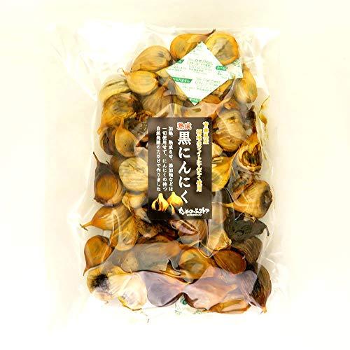 黒にんにく ためのぶの黒 青森県産 まちまち黒にんにく バラパック500g入り (約2ヶ月分)