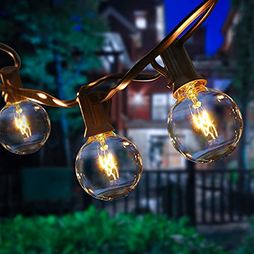 gazebo da giardino 10x5 ROVLAK Luci Esterno Catena Luminosa 25+4 Bulbi Lampadine da Esterno da Appendere Impermeabile IP44 9