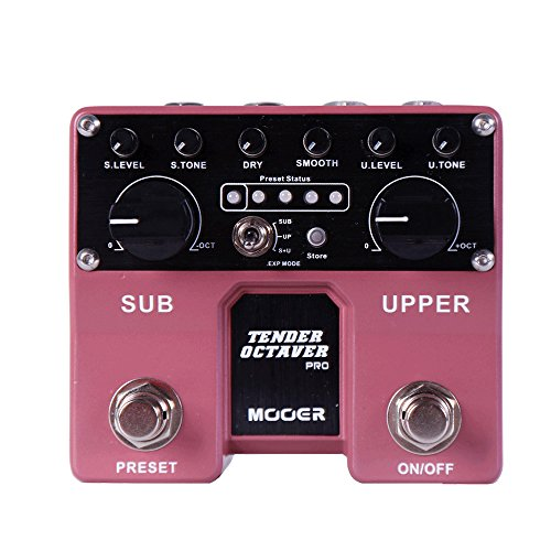 Mooer Tender Octaver Pro - Pedal de efectos para guitarra