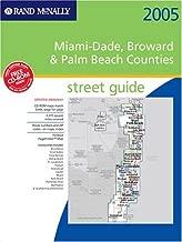 Rand Mcnally 2005 Atlas Miami-Dade, Broward & Palm Beach Counties, Florida: Street Guide