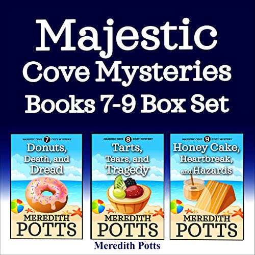 Majestic Cove Mysteries Books 7-9 Box Set  By  cover art