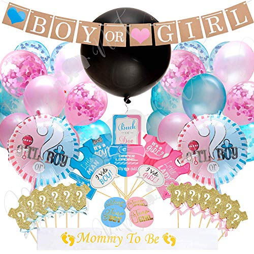 48x READY TO POP Baby Shower Personalised Stickers Gender Party pink or blue 515