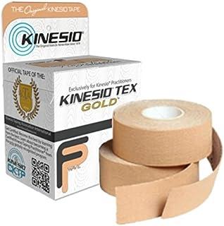 "Kinesio Tex Gold FP Tape 1"" x 5.5 Yards BEIGE (Pack of 4 Rolls)"