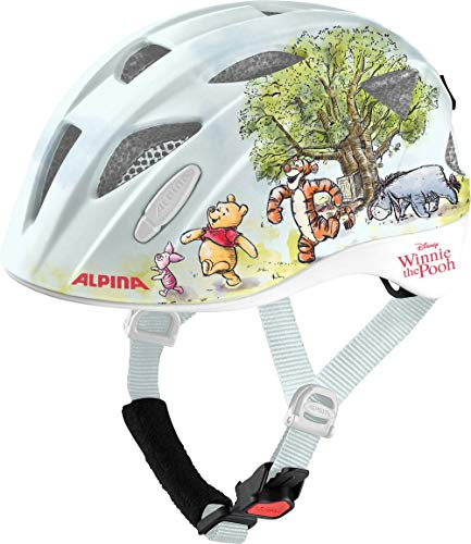 ALPINA Unisex - Kinder, XIMO DISNEY Fahrradhelm, Winnie Pooh, 49-54 cm